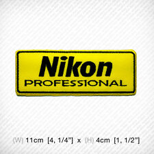 new NIKON EMBROIDERED PATCH IRON ON or SEW, Professional Camera Photographer