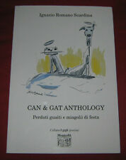 "Libri/Riviste/Giornali/Poesia "" CAN & GAT ANTHOLOGY "" Scardina/Montedit"