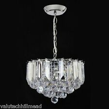 Endon Lighting 3 Light Crystal Chandelier  Finish: Chrome