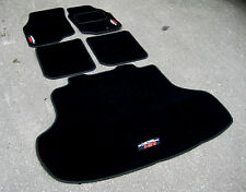 DELUXE Car Mats - Mitsubishi Lancer Evolution 9 (Evo IX) + Boot Mat + MR Logos