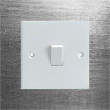 Efecto de metal cepillado/Rayado Interruptor de luz eléctrica Envolvente Adhesivo Impreso