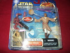Star Wars - Attack of the Clones - Mace Windu with blast apart battle droid