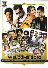 MOVIEBOX PRESENTS - WELCOME 2010 - BRAND NEW BOLLYWOOD MUSIC DVD