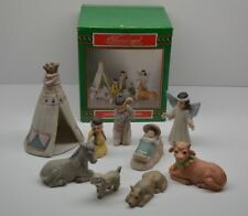 Christmas Around The World/House of LLoyd Native American Nativity Set