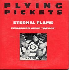 "FLYING PICKETS ""ETERNAL FLAME"" SPANISH PROMO CD SINGLE / THE BANGLES - HOFFS"