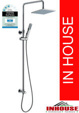 Multifunction Shower Head on Rail & Hand showerset-Square(bottom water inlet)