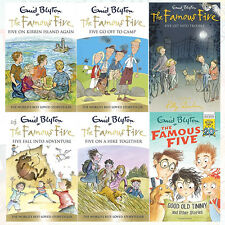 Enid Blyton Famous Five 6 Books Collection Set Good Old Timmy 6-10 New Paperback