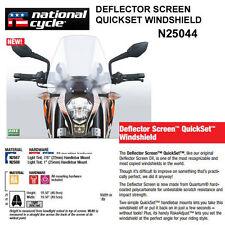 HONDA VT1300CR STATELINE 2010-16 NAT. CYCLE DEFLECTOR QUICKSET WINDSHIELD N25044