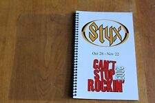 Styx / TOUR ITINERARY / Cant Stop Rockin 2009