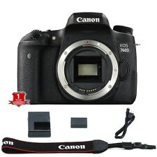 Canon EOS Rebel T6S / 760D 24.2 MP DSLR Camera (Body Only) Black - BRAND NEW