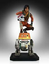 Star Wars Rebeldes Maquette Ezra & Chopper 23 cm Gentle Giant