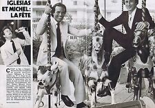 COUPURE DE PRESSE CLIPPING 1980 JULIO IGLESIAS (2 pages)