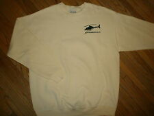 PROMEDICA HELICOPTER SWEATSHIRT Life Flight Pilot EMT Paramedic Rescue LARGE