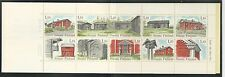 FINLAND # 626  (a-j )  FARM HOUSES Booklet