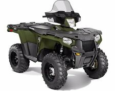 "POLARIS SPORTSMAN 570 SP 850 1000 XP LOCK&RIDE MID 15.5"" BLACK WINDSHIELD"