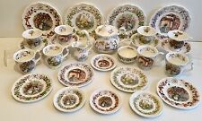 27 PIECE ROYAL DOULTON BRAMBLY HEDGE FULL SIZE TEA SERVICE *** FOUR SEASONS ***