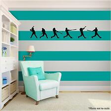 BASEBALL PLAYERS Vinyl Wall Art Wall Quote Home Room Decor Decal Word Phrase
