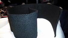 Carbon felt use as windscreen for alcohol or other kinds of camping stove 6 x 36