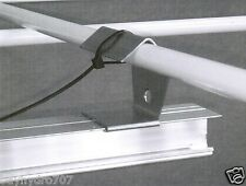 Light Rail Tent Hangers 4pc Kit. - Bracket Support 4 Grow Room Light Movers SAVE