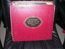Standard Treasury of the World's Great Music 33 Symphonic Rec. 30 Composers NM