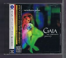 CD OLIVIA NEWTON JOHN GAIA ONE WOMAN'S JOURNEY JAPAN