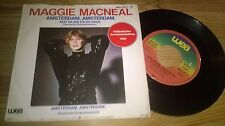 "7"" Pop Maggie MacNeal - Amsterdam, Amsterdam (2 Song) WEA Eurovision 1980"