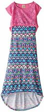 NEW One Step Up Big Girls' Maxi Dress with Lace Popover sz M (10/12)