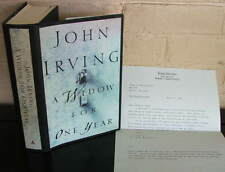 A Widow for One Year. John Irving - Cook Neilson SIGNED presentation, 1st ed. DJ
