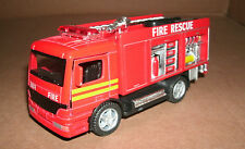 1/50 Scale Fire Engine Rescue Unit Truck Diecast Model  911 Emergency Department