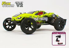 Radio Remote Control Fast RC Car 1/10th Electric Truggy Flux Storm V2 2.4GHz New