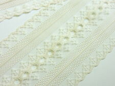 IVORY LACE - 5 yds - 4 in. wide - Wedding - Table Runners - INVITATIONS -Trim