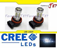 CREE LED 80W H11 WHITE 5000K TWO BULB HEAD LIGHT FOG SHOW REPLACEMENT OFF ROAD