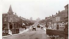 Sandy Park Road Brislington RP old pc used 1912 ? Harvey Barton Bristol