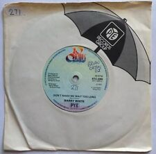 "Barry White - Don't Make Me Wait - 20th Century Records 7"" Single BTC 2309 EX"