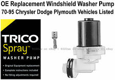 Windshield / Wiper Washer Fluid Pump (b) - Trico Spray 11-509