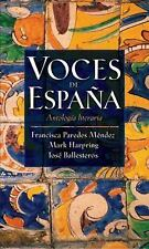 Voces De Espana by Paredes-Mendez