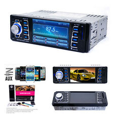 Car Radio Bluetooth Stereo Head Unit Player MP5/MP3/USB/SD/AUX-IN/FM Radio IPod