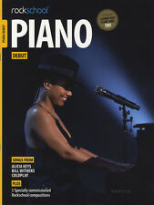 Rockschool Piano Debut Exam Sheet Music Book/DLC Coldplay Alicia Keys