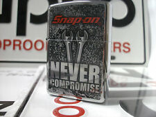 Zippo Windproof Lighter Snap-on Never Compromise HP Chrome 2016 NEW