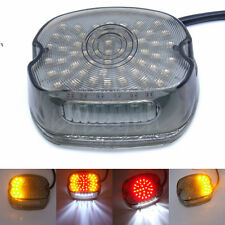 Smoke LED Tail Light Turn Signal Brake Lamp for Harley Electra Glides FXST Dyna