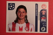 PANINI CHAMPIONS LEAGUE 2011/12 N 394 PANTELIC OLYMPIACOS BACK BACK MINT!!