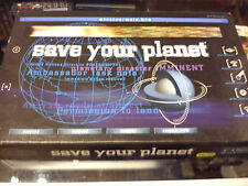 ABEL GAMES LTD  'SAVE YOUR PLANET'. GAME IS COMPLETE
