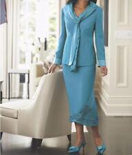 Mother of Bride Groom Women's Wedding Formal Church party Skirt suit plus20W1X2X