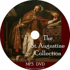 St. Augustine Christian Audiobook Collection on 1 MP3 DVD Unabridged Free Ship