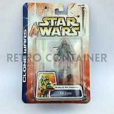 STAR WARS Kenner Hasbro Action Figure - CLONE WARS - Kit Fisto