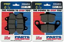 SBS Dual Carbon Organic Front or Rear Motorcycle Brake Pads 577HF