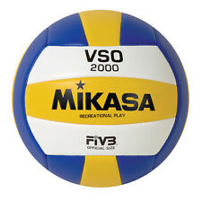 MiKasa VSO-2000 Ball For VOLEYBALL Color: Blue, Yellow, White