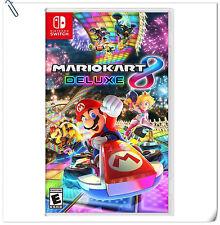 SWITCH Mario Kart 8 Deluxe Nintendo Racing Games