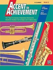 Accent on Achievement, Book 3 B-flat Clarinet  NOS Paperback
