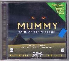 Mummy: Tomb of the Pharaoh Only -PC, 1996, Interplay- Free USA Shipping!